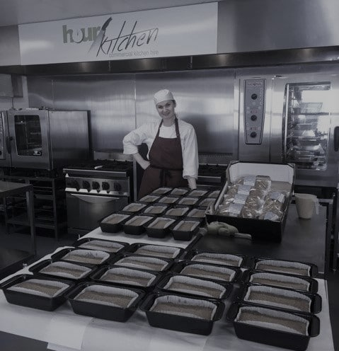 chef working at hour kitchen commercial kitchen dublin